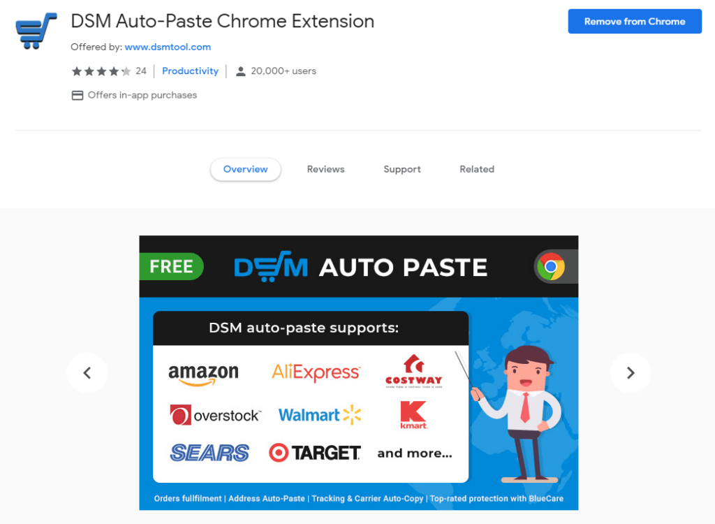 Best Chrome Extensions for Dropshipping: DSM Tool