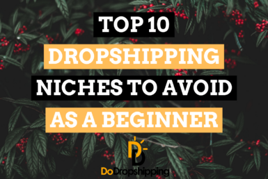 Top 10 Dropshipping Niches to Avoid as a Beginner in 2021