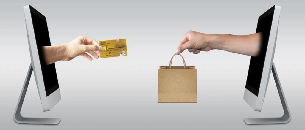 ecommerce transaction visualized