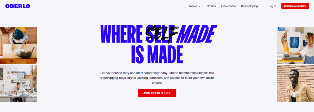 Best Dropshipping Companies: Oberlo