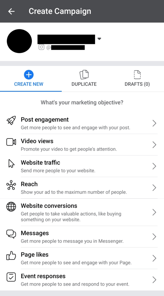 Can you dropship from your phone and create Facebook campaigns