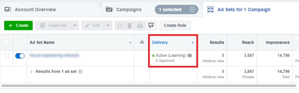 Facebook Ads fifth tip for better results: Don't be inpatient