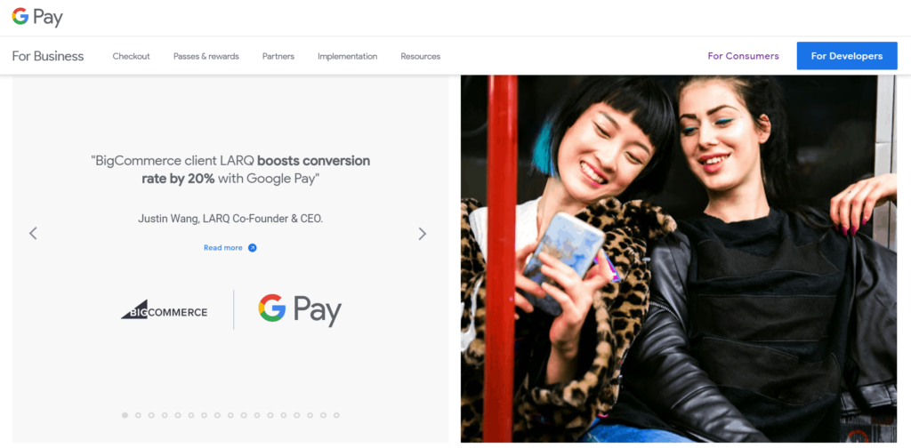 google pay for business payment gateway