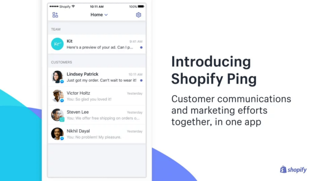 Introducing Shopify Ping