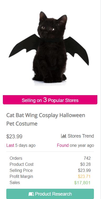 Cat bat wings SellTheTrend