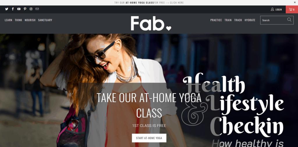 Fab homepage