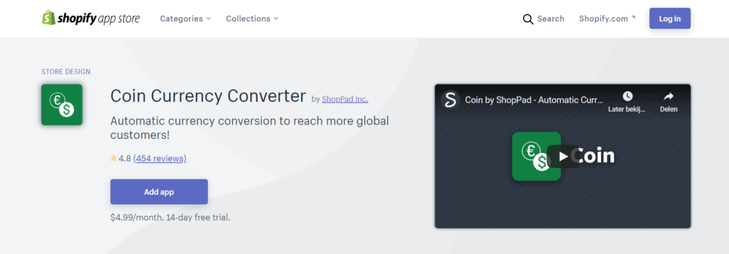 Coin currency converter app crypto Shopify