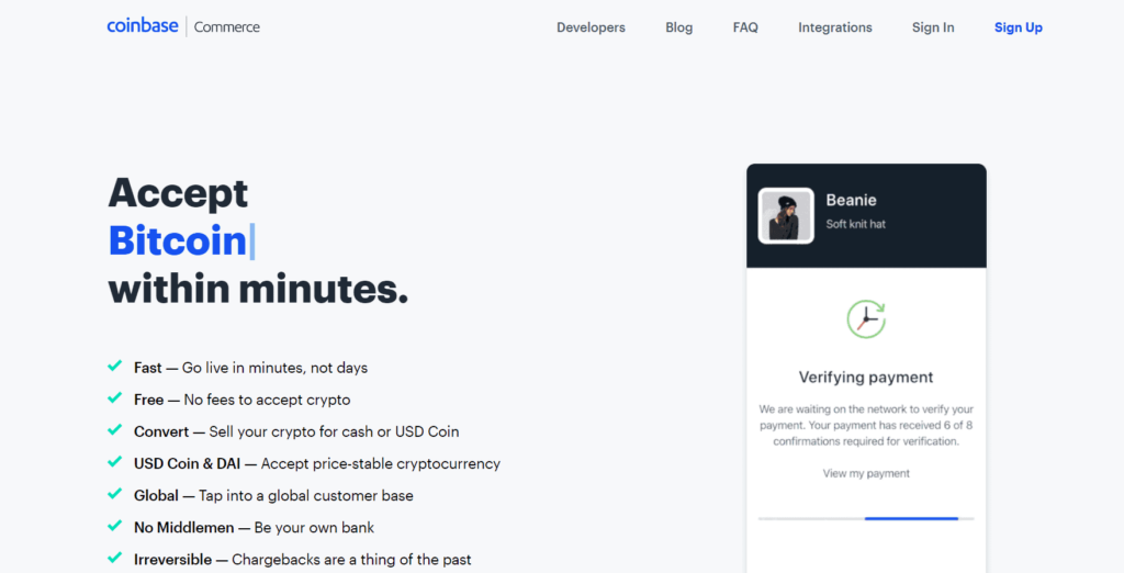 How to accept Bitcoin (& other crypto payments) on Shopify? Coinbase Commerce