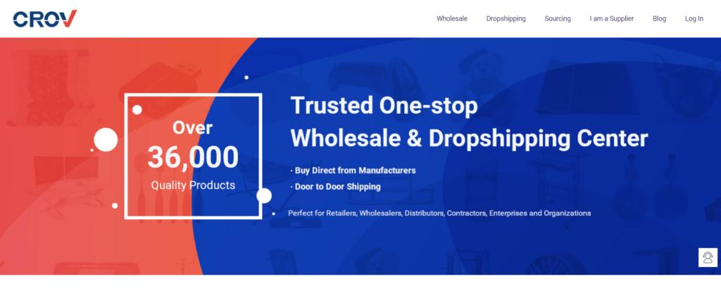 Homepage of Crov