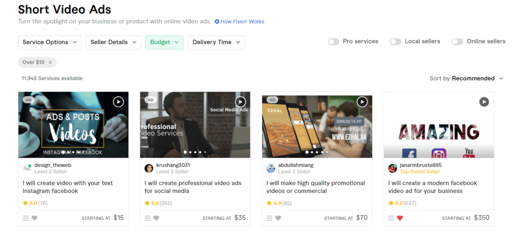 Facebook Ads fourth tip for better results; Invest in a good video ad