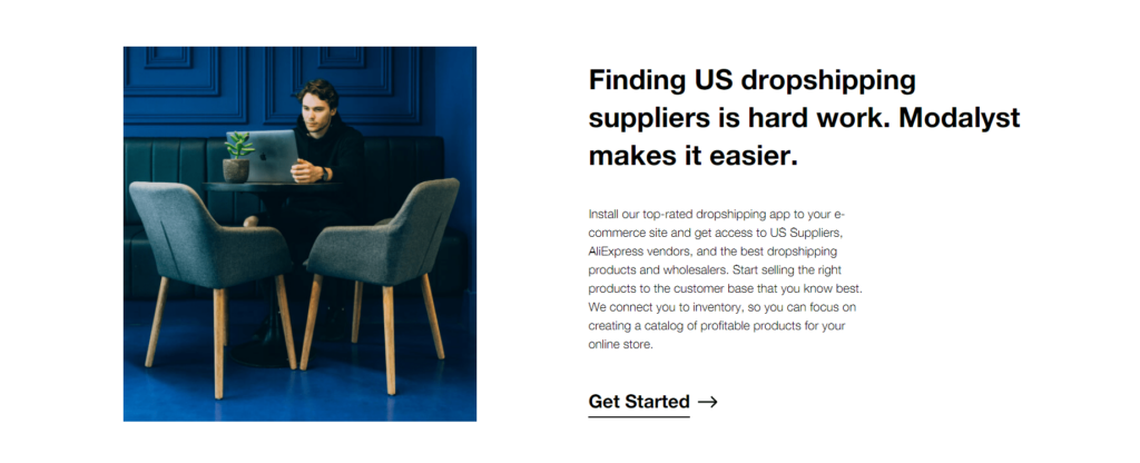 Modalyst as your US dropshipping supplier