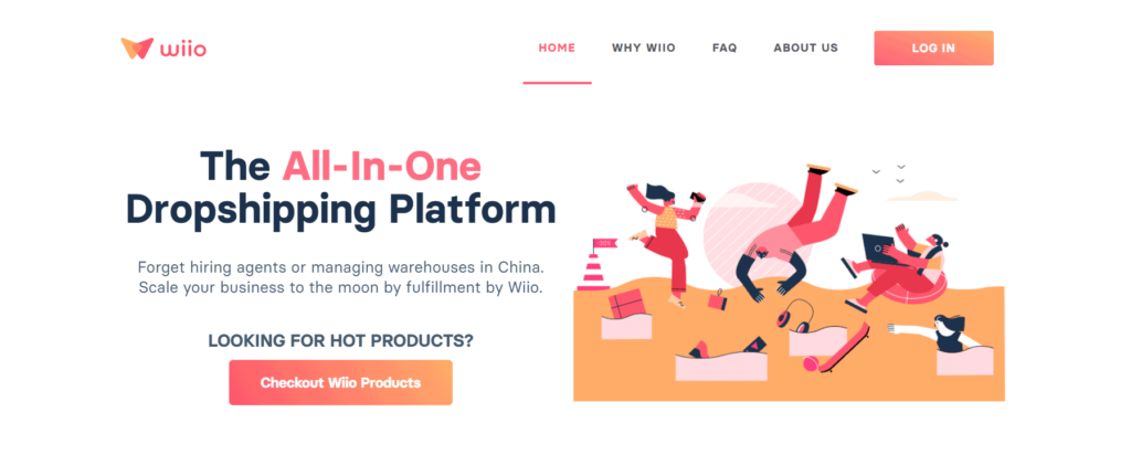 Free dropshipping supplier Wiio