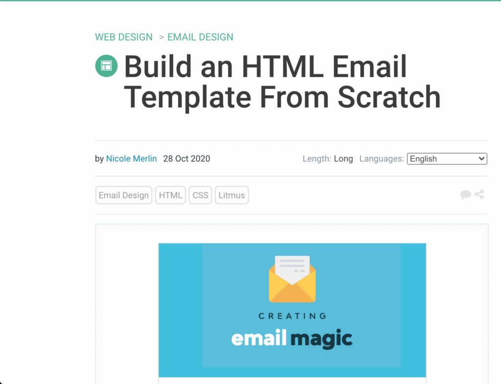 HTML Template Guide
