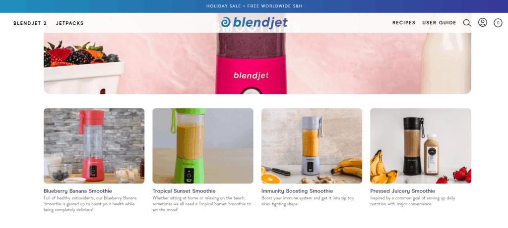 Blendjet recipe blog