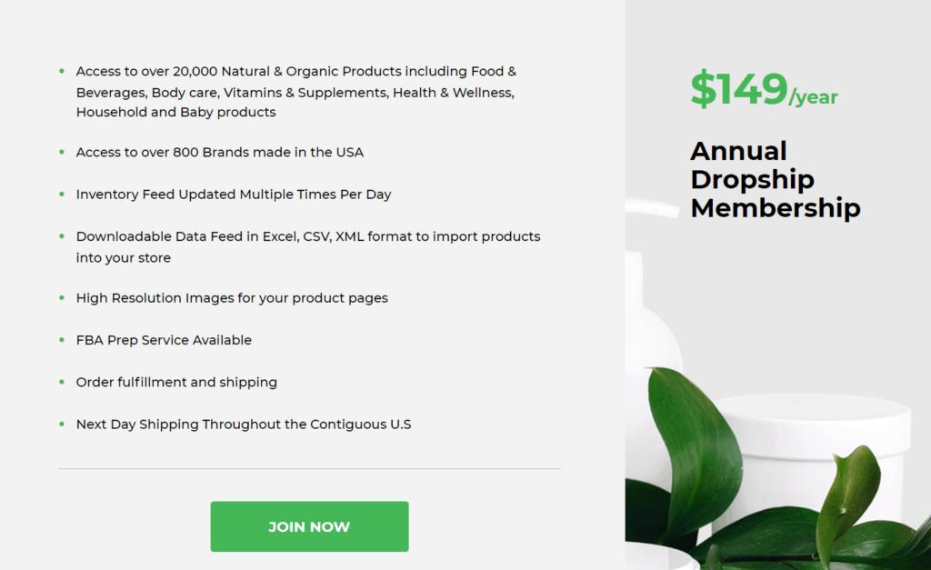 GreenDropShip pricing