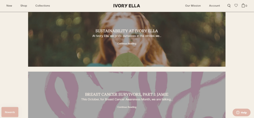 Ivory Ella blog