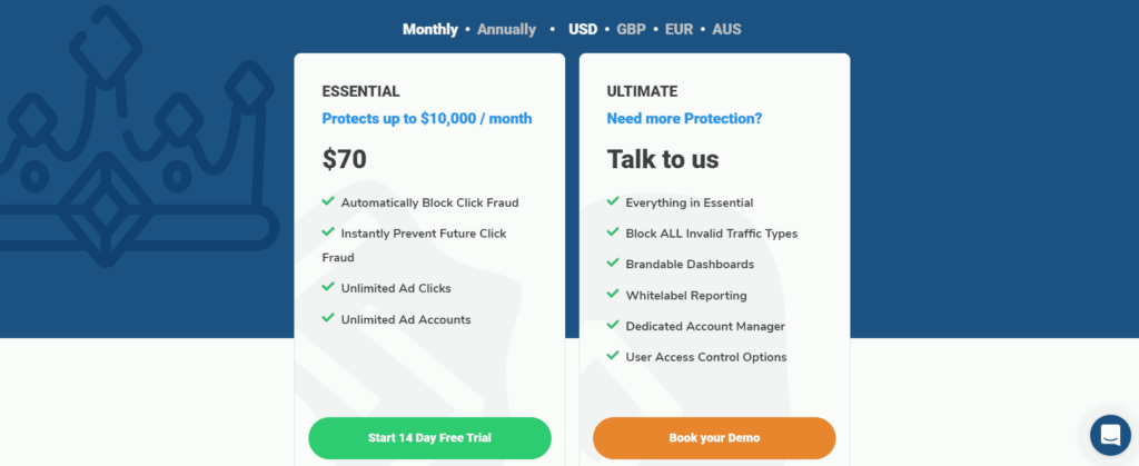 PPC Protect Pricing
