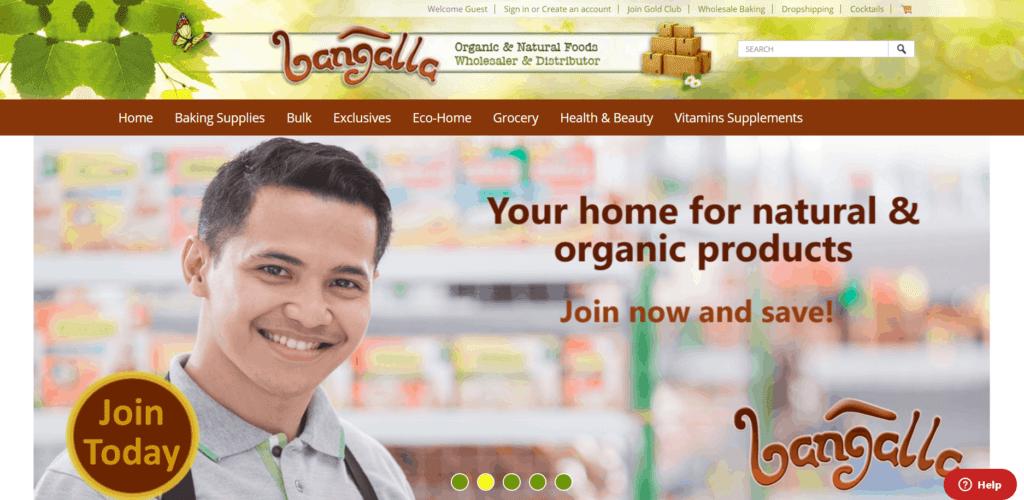Bangalla homepage