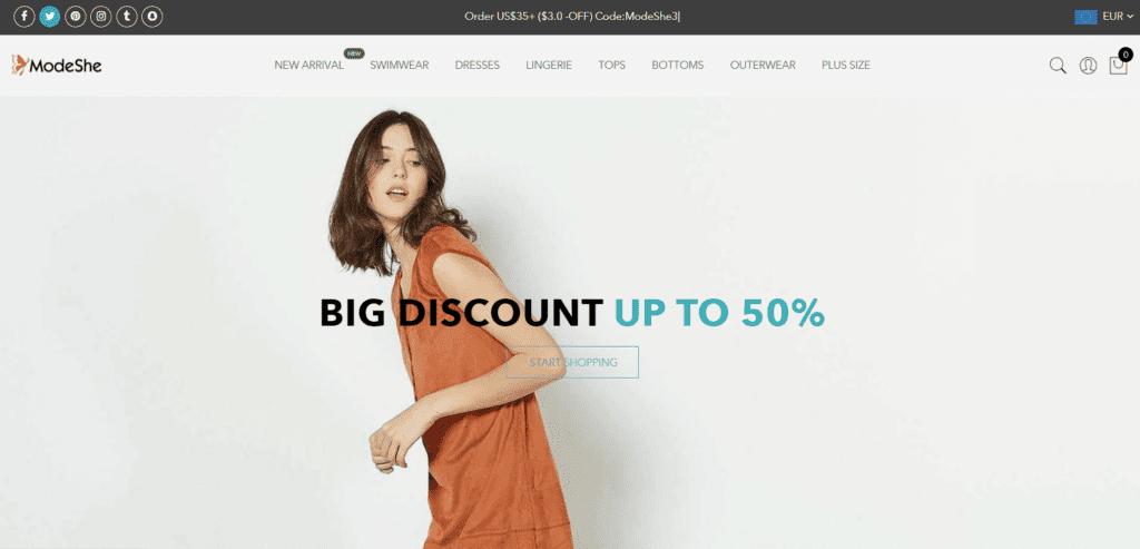Modeshe fashion dropshipping supplier