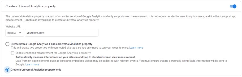 Google Analytics - Universal Analytics