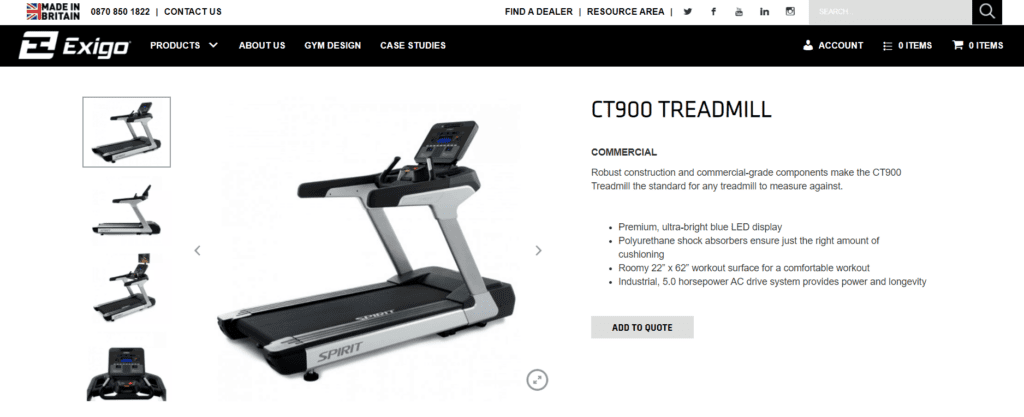 gym equipment high ticket product UK supplier