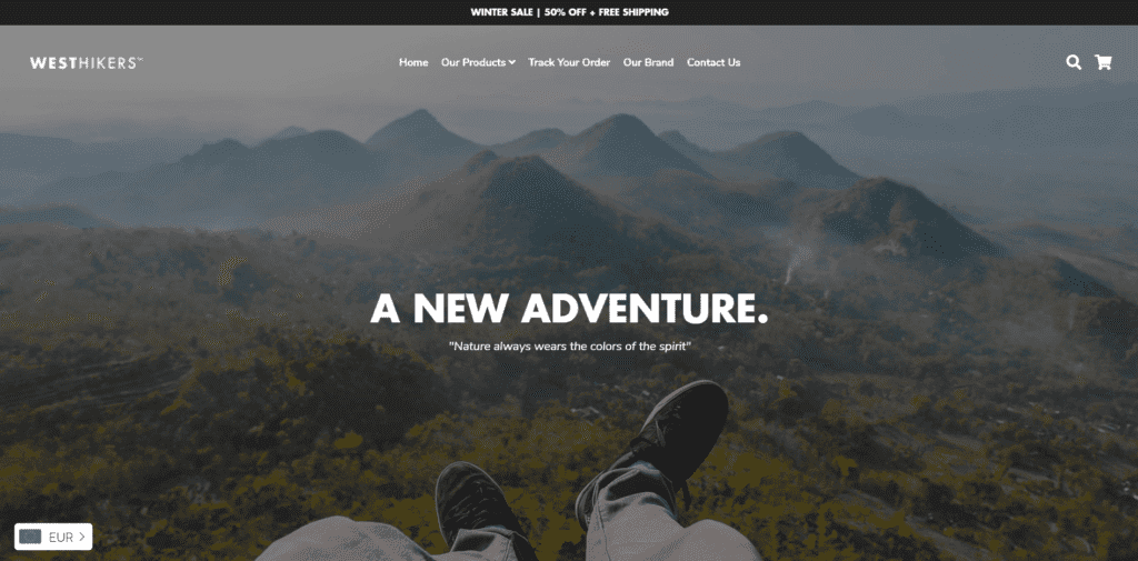 West Hikers homepage