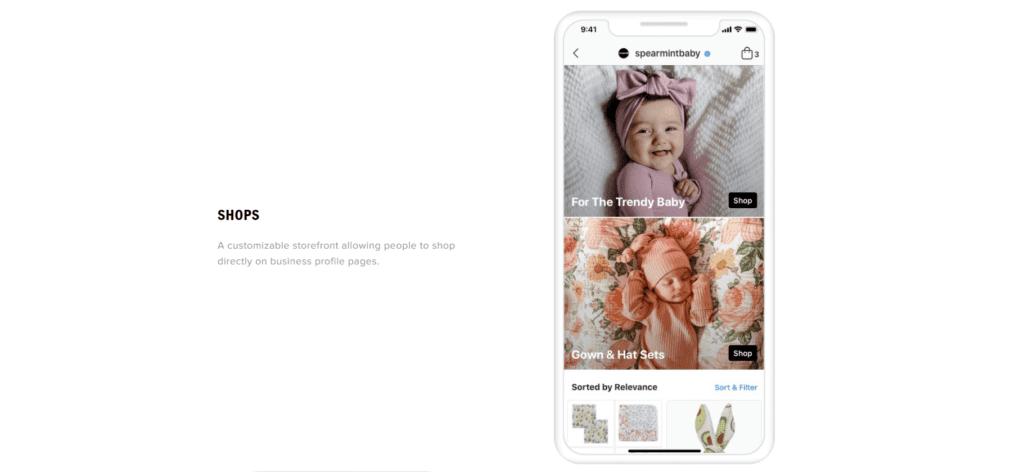 Instagram shops