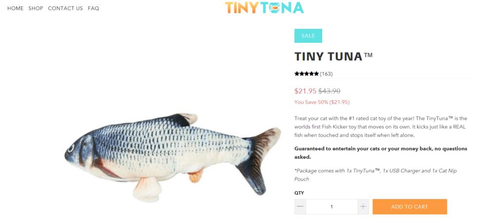 Tiny Tuna main product