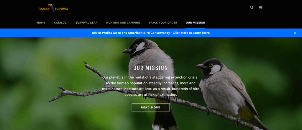 Our mission Toucan Survival