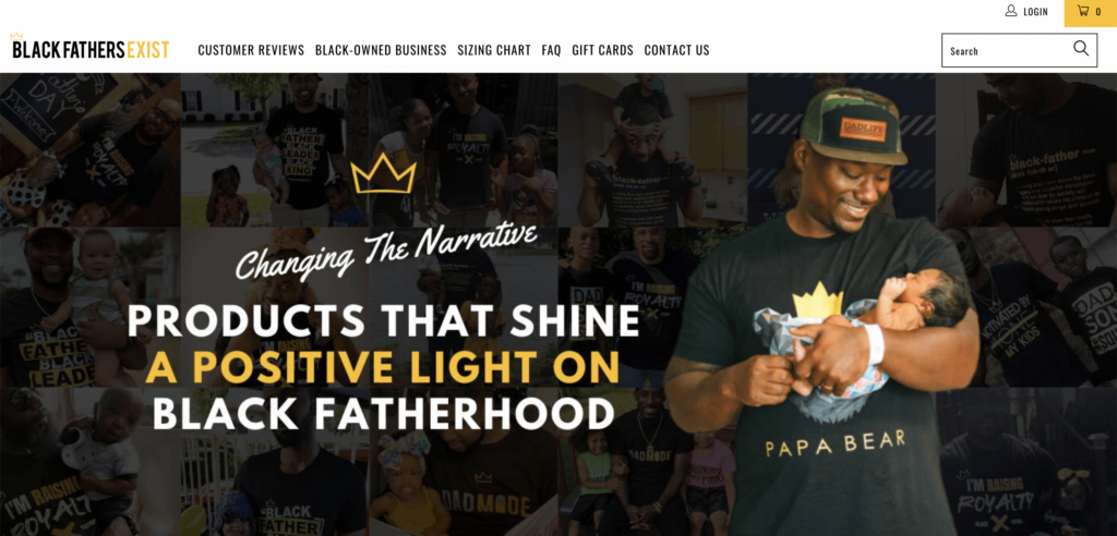 black fathers exist homepage