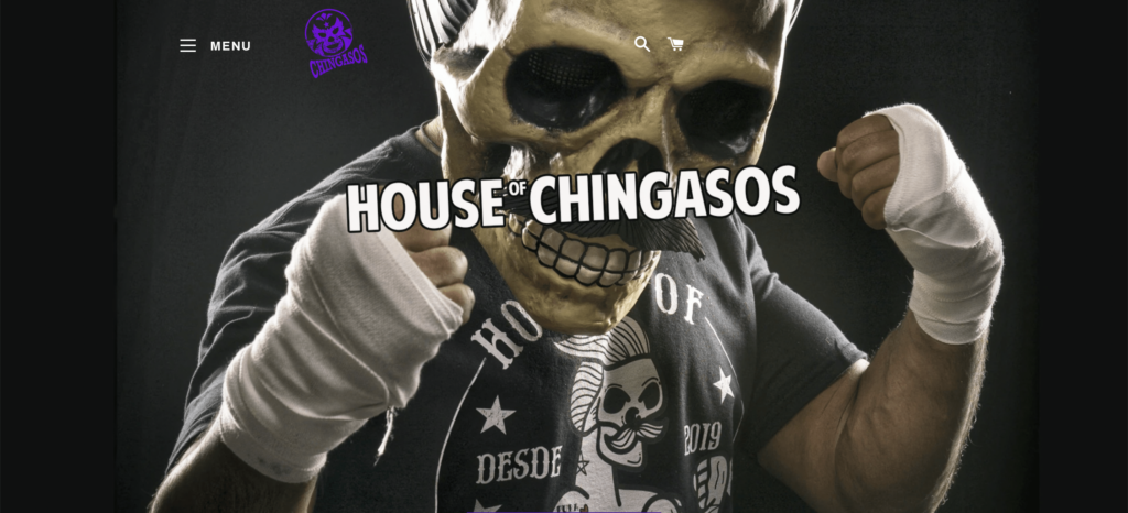 house of chingasos homepage