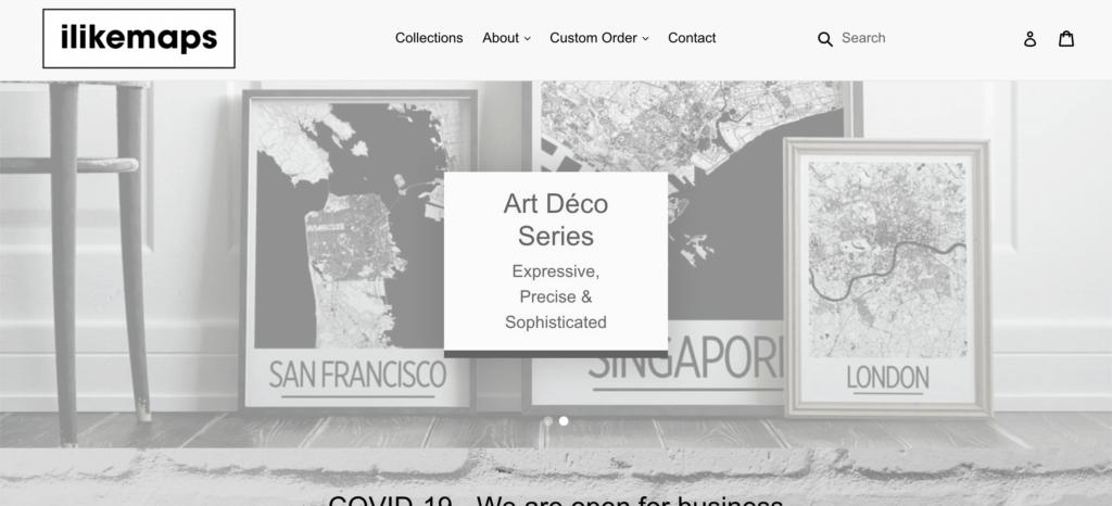 i like maps homepage