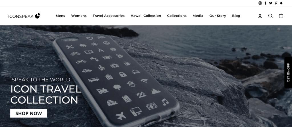iconspeak homepage
