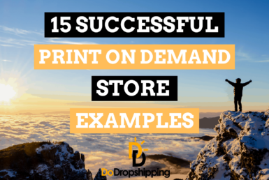 15 Most Successful Print on Demand Store Examples