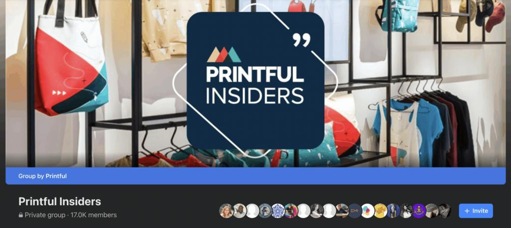 printful facebook group