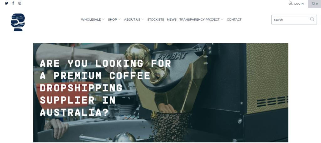 Rumble coffee coffee niche dropshipping supplier in Australia
