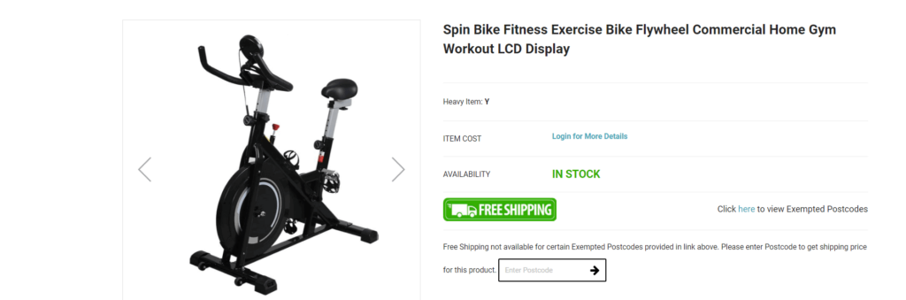 Product example from high-ticket dropshipping supplier iDropship