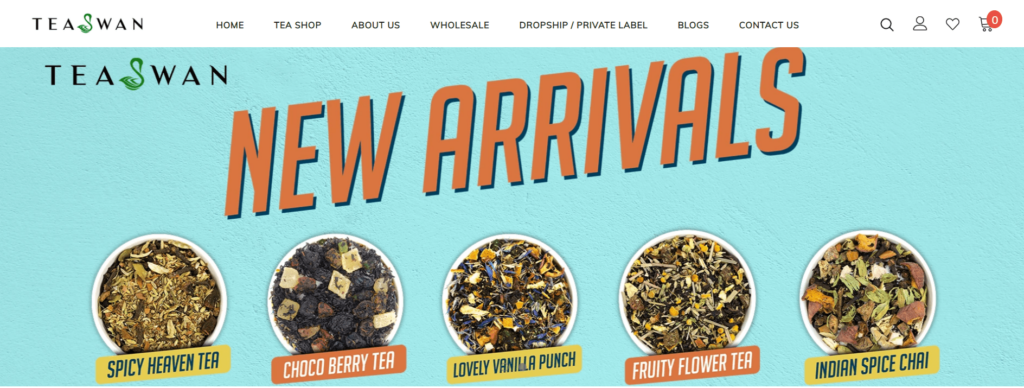 TeaSwan private label tea supplier