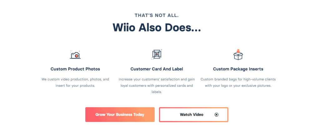 Wioo private label dropshipping services