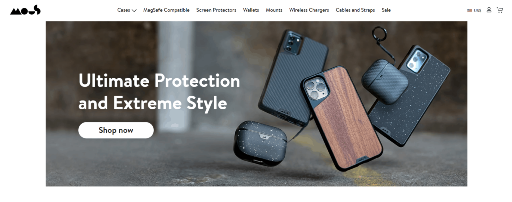 Phone case private label dropshipping product example