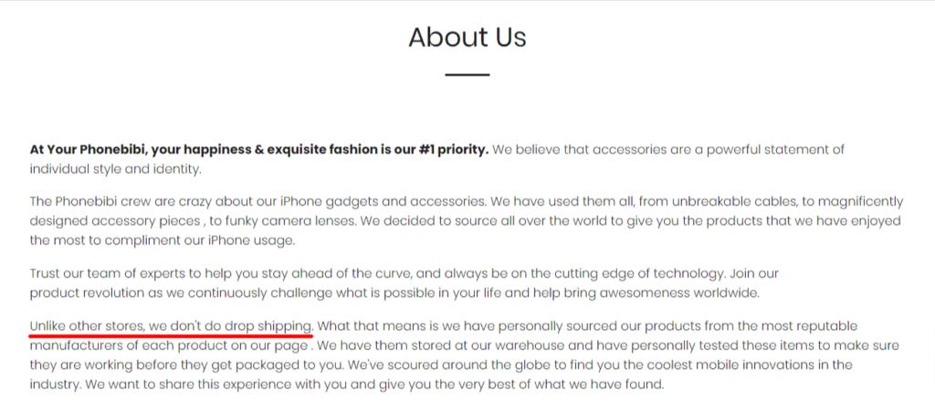 Phonebibi about us
