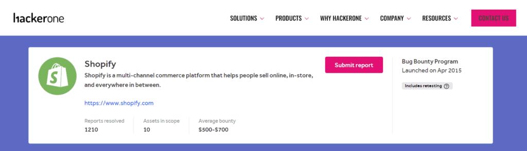 Shopify's top hackers on Hackerone