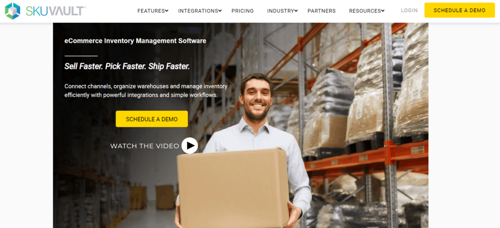 SkuVault dropshipping inventory management software