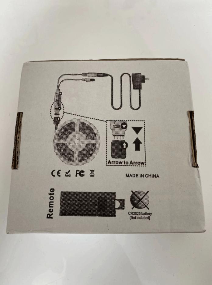 Standard package from AliExpress