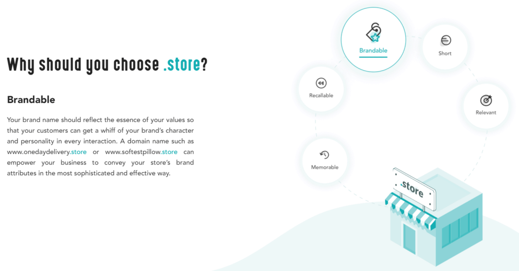.store domain explanation