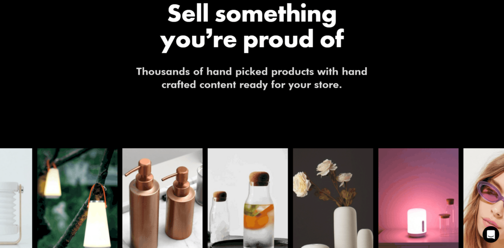 Homepage of Thieve Supply