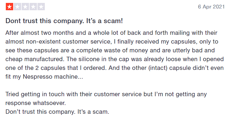 An example of how poor customer service will affect your reputation