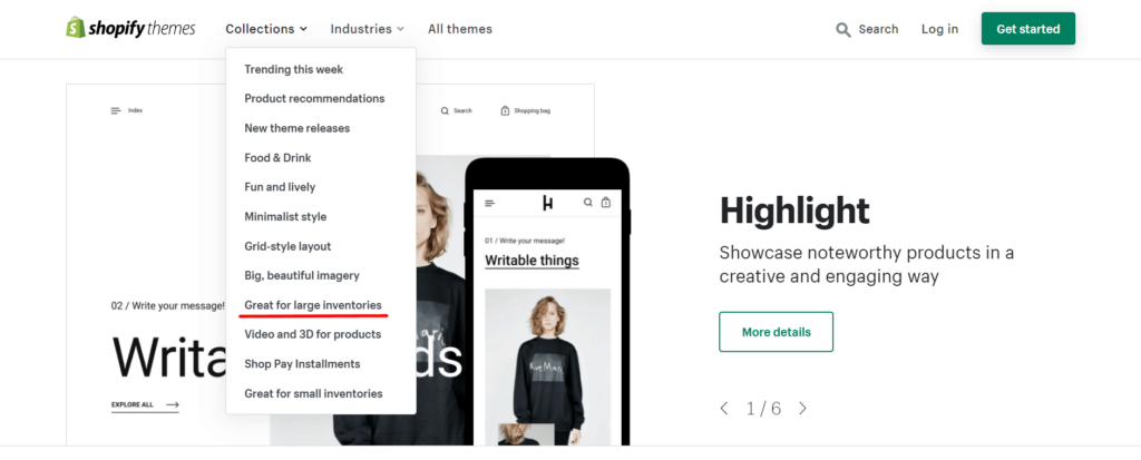 Best themes for general online stores Shopify