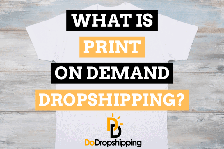 what is print on demand dropshipping guide