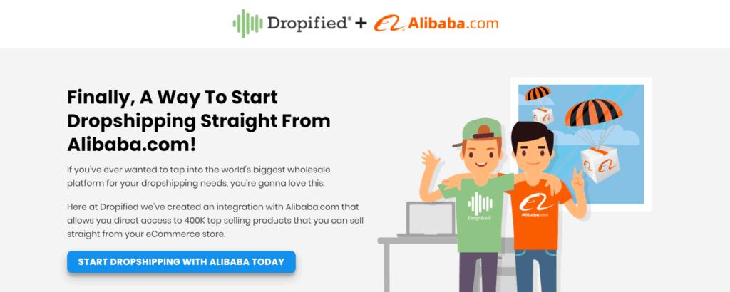 Dropified and Alibaba partnership